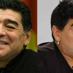 Maradona mostra nova fisionomia em entrevista com Ronaldo http://t.co/RSQAItbvlG http://t.co/RP9xM0Gd3x