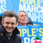 In case you missed it, here is Michael Sheens rousing speech about the importance of the NHS http://t.co/WKdFq7VUto http://t.co/NlMMAnC96H