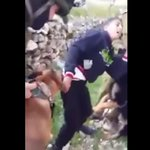 Disturbing leaked footage shows Israeli soldiers setting dogs on Palestinian teen http://t.co/tjneMgKeCc http://t.co/7d9MbWzGmP