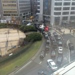 Taxi drivers are blocking the #Schuman roundabout on a protest. Make sure to avoid the area if you are in #Brussels! http://t.co/XKzvlkOxTO