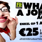 Nieuw! ENKEL op #1april! €25 voor 1 maand #FREETIME Enkel voor abonnementen die aflopen in april; max. 1x/lid http://t.co/fbF24Nn0jd