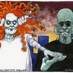 Steve Bell on Rupert Murdoch and Rebekah Brooks – cartoon http://t.co/IKB5Ye2Wak http://t.co/rna4I0swDH