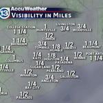 Another foggy morning commute! Dense Fog Advisory in effect until 10am http://t.co/g8hfXNaUBl