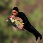 John Travolta is all over the weasel and the woodpecker http://t.co/HMxoDInWbh