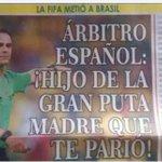 Bos días a todos menos a Velasco Carballo ó que lle adico esta portada dun xornal colombiano http://t.co/N5o4UVdJ1W