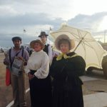 At the end of @TheBorellaRide #Darwin 1915 has been recreated. http://t.co/wkzpsdqnn4