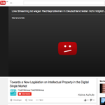 so @Senficon is at a presentation on a Single European #Copyright Title and guess what? http://t.co/fYsziN4tgm blocked in Germany