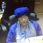 Dramatic account of impact of #Ebola by Pressident @JohnsonSirleaf at Ebola Conference in #Brussels today. http://t.co/PO6uDzCZn1