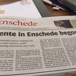 Mooi bericht van @PGWelman : Lente in Enschede begonnen. In @tubantia @cdaenschede #meerwerk http://t.co/osI1mMO8Kc