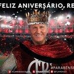 Parabéns @ziconarede! Obrigado por TUDO que fez pelo nosso Flamengo. É e sempre será o maior ídolo dessa Nação! http://t.co/JKIpb5URmp
