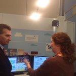 .@GOettingerEU talks to @FP7ictCREW & @EVARILOS_FP7 about indoor localisation for #5G #MWC15 http://t.co/J4v2x0DSOm