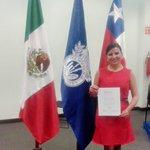 Misión cumplida! Ahora de regreso a Chile #osorno para contribuir a la formación técnica d mi región! Gracias totales http://t.co/55FRBrZBV6