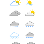 15 Free Weather Vector Icons on Behance - http://t.co/7oWfHO4mkK http://t.co/77JCc7T3BX