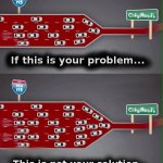 Het Antwerpse mobiliteitsplan beschouwt Oosterweel als beslist beleid. Deze cartoon vat alles goed samen. #gemra http://t.co/sLG5iGRxUT