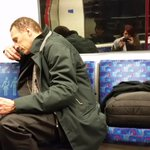 Comfy there with your three seats mate? #london #tube http://t.co/VGqeE41YQs