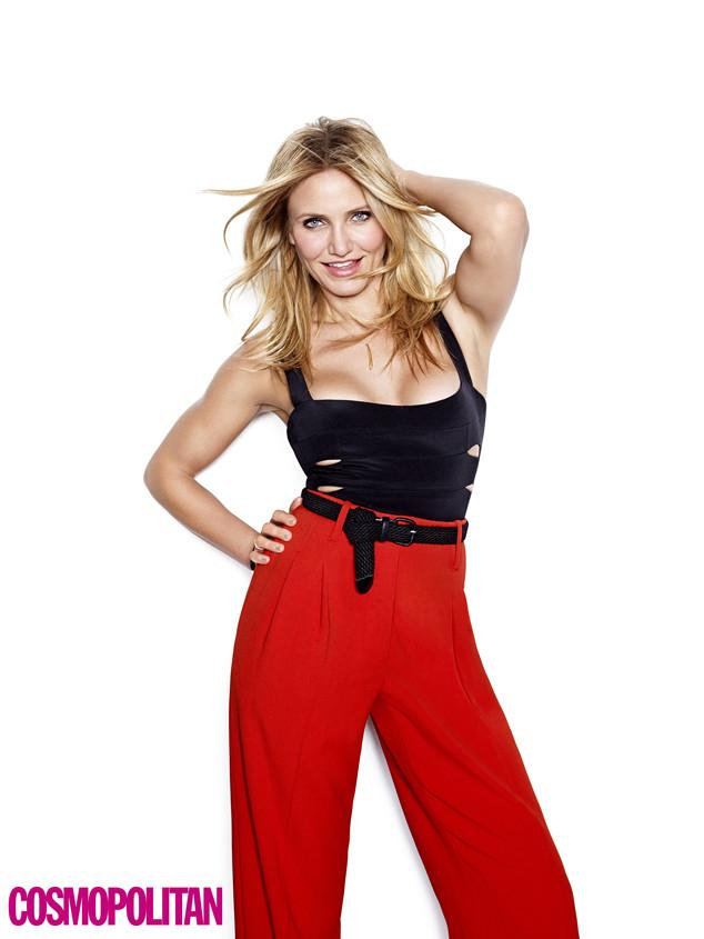 Get it, Cameron Diaz! The actress opens up about sex, social media and cheating on her diet: