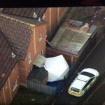Forensic tent erected at house in Barton Court, Bristol. Police say body parts found in Becky Watts case. http://t.co/CPOspiEakJ