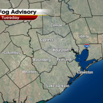 Dense Fog Advisory until 10 AM. Misty and humid conditions this morning in the mid 50s. http://t.co/vNWBNiytlm