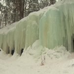 """Oh. this is awesome. Ive never seen anything like this,"" says Paul Melanson of ice caves. http://t.co/WcpVM6QU8Q http://t.co/pT3WcnGini"