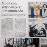Moda + sello vasco y personalizada @elmundoes #CommeDesMachines ➰ #Impresion3D + #Sostenibilidad #expoHEBE #Bilbao http://t.co/raU9C7NKm5
