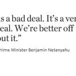 Netanyahu on Iran nuclear deal: http://t.co/M0dHpw4tUp #NetanyahuSpeech http://t.co/zqdxjNrIzX