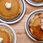 Its free pancake day at IHOP! Hayyyyyyyy go get your short stack http://t.co/TCPXmb2mG4 http://t.co/hk8u4vb9tB