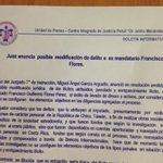 .@GaboRealitas: Juez 7o de Instrucción anuncia posible modificación de delito de peculado a lavado de dinero a Flores http://t.co/JUyQb66C7A