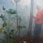 RT @alfredoroar: @BomberosES tratando de controlar incendio en volcán Chichontepec junto a @FUERZARMADASV http://t.co/fTV9WLfUzo