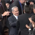 Pity the #GOP can't muster up this level of support and excitement for their own head of state. #netanyahu #DEM http://t.co/SImrVyPU8C