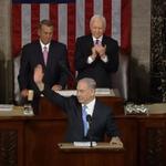 Netanyahus speech beginning in Congress. Follow live: http://t.co/6VDN0h0xAM #BibiSpeech http://t.co/CmO6AJ75QM
