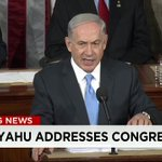 """""""I know that no matter on which side of the aisle you sit, you stand with Israel."""" #Netanyahu http://t.co/UYpqI3w42L http://t.co/5aKtsSXtl5"""