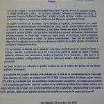 Francisco Flores debe ser procesado por lavado de dinero, según el juez de la causa. http://t.co/leajIf2lyq