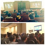 Love for Medinat Yisrael on both coasts! Students in LA & at #AIPAC2015 in DC watch PM @Netanyahu address congress http://t.co/Ydltj0n27r