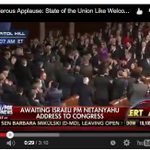 Thunderous Applause: State of the Union Like Welcome for Bibi http://t.co/aXRM7gFAMG http://t.co/3UtWuWYZYq