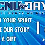 I may be a DUKE, but Ive certainly felt the love from many CAPTAINS! Happy #CNUDay15! http://t.co/vuDsQs69Xo