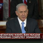 """""""We must all stand together to stop Iran's march of conquest, subjugation, and terror."""" @Netanyahu #NetanyahuSpeech http://t.co/HGplXk7jks"""
