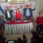 @nayibbukele ,@Miguelpereirasv y autoridades del @FMLNoficial encabezan conferencia de prensa http://t.co/MfWE3FZKtB