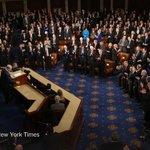 Images of Netanyahus speech to Congress from @dougmillsnyt http://t.co/qkAsTnmfuh