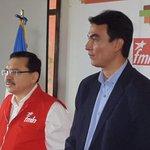 En conferencia de prensa junto a Medardo González y otros alcaldes electos de mi partido @FMLNoficial http://t.co/1Zm0UcrgBb