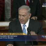 """""""I know that no matter on which side of the aisle you sit, you stand with Israel."""" http://t.co/M1mkQmlRE7 #BibiSpeech http://t.co/OxWOFAhJtF"""
