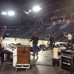 Sound check kicking off at the #NGHFBTour http://t.co/EQQtBIiFba