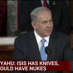 Netanyahu: Nuclear deal does not prevent path to the bomb; it paves path to the bomb. http://t.co/OYdBdMqTzb http://t.co/DNVODNuoXj