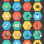 Free download: 36 Flat Education Icon Set - http://t.co/mLQSTKPlk4 http://t.co/6hjIt7nHix