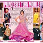 RT @Allupdatez: Princesses Turn Models @LakshmiManchu @shilpareddy217 -->