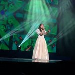 Patrica from the #Philippines is on state singing Something Got a Hold Me in #iflcPH, #Manila http://t.co/AJLcue7xsL