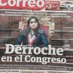 Y la austeridad? #Solórzano dispone q cada congresista viaje con 5 asesores a sus regiones http://t.co/BtC9TT5dAN http://t.co/1sNtxfcrkg