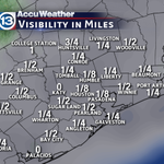 RT@CaseyWeather: Dense Fog Advisory in place this morning. Visiblity close to zero across most of the area http://t.co/AgvXxyIGoX#houweather