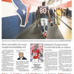 .@HoustonChron Sports cover: After 12 years, Andre Johnson finally walks away from #Texans http://t.co/jsRfFvY5f8