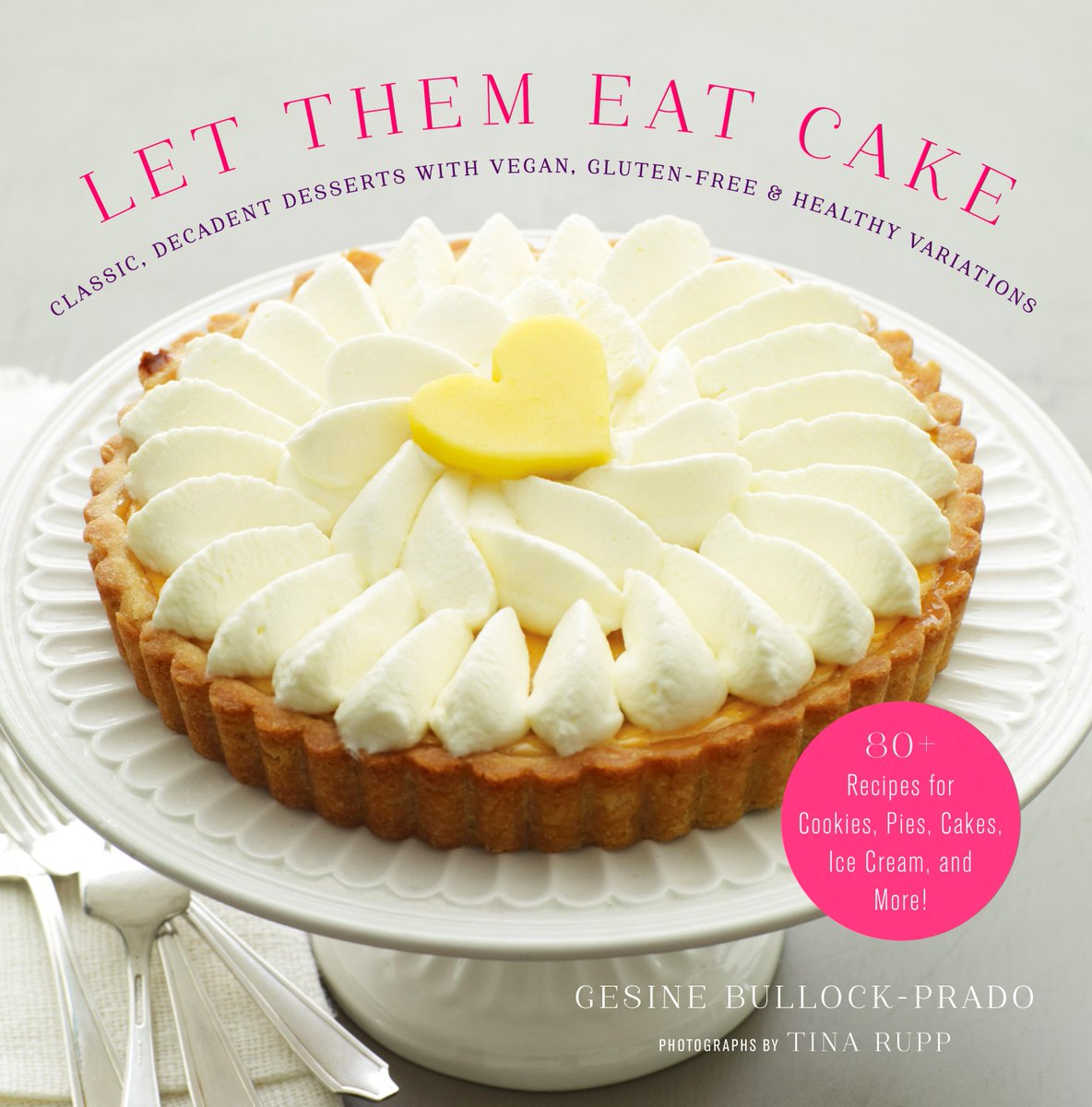 """""""Let Them Eat Cake:  Classic Desserts w/Vegan, Gluten-Free & Healthy Options"""" out today!!!  http://t.co/bt0sORvmNt http://t.co/ndmd7oKSlh"""