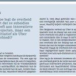Zelfs een taxi van #Uber geraakt vandaag niet door #Brussel . Das eruber! #stilstand #innovatie #keuzevrijheid http://t.co/Q6N1kGl0AX